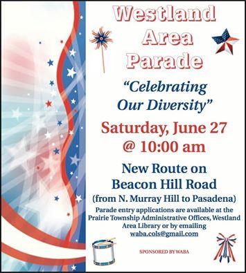 westland area parade